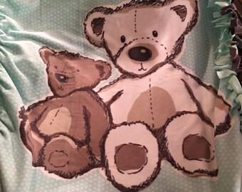 Teddy Bear Tied Fleece