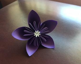 5 kusudama origami flowers