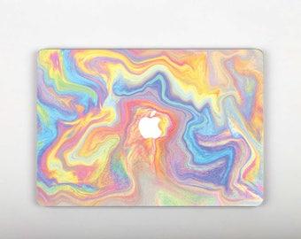 Neon Skin Macbook 12 Macbook Skin Computer Decal Laptop Vinyl Laptop Skin Macbook 12 Skin Macbook Pro Retina 13 Skin Mac Rainbow Skin SG119