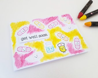 Funny get well gift etsy for Unusual get well gifts