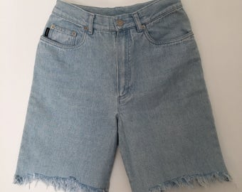 RALPH LAUREN vintage / vintage denim shorts / high wasted shorts / denim shorts / cut off jean shorts / high rise shorts / denim shorts