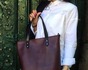 Leather Tote bag, Tote bag, Tote Handbag, Leather Handbag, Shoulder Bag, Leather Tote, Tote, Leather Bag, Personalized Tote, Handbag