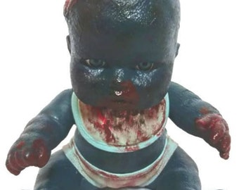 Creepy, Gory Zombaby Doll - Bubba Jr