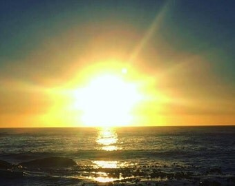 Sunset Over Sea Point
