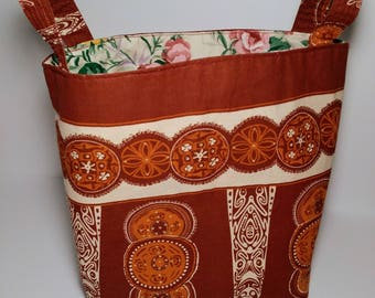 Fabric organizer basket, bin, storage basket