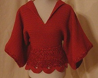 Woman's Sweater CROCHET PATTERN