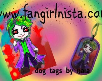Joker Dog tag
