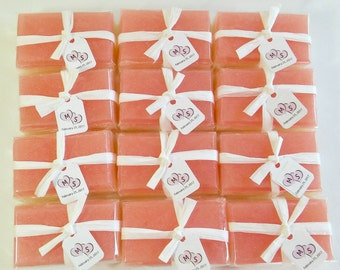 30 Soap Wedding Favors, Soap Favors, Favors for Bridal Shower, Wedding Soap Favors, Personalized Soap Favors, Handmade Soap Favors