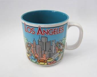 Los Angeles LA Hollywood California Skyline Coffee Mug // PAPEL Mug