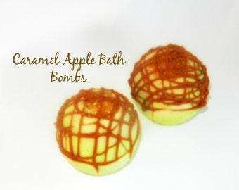Caramel Apple Mondo Bath Bombs
