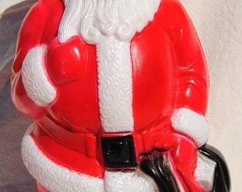 Blow mold Santa by Empire Plastic Company