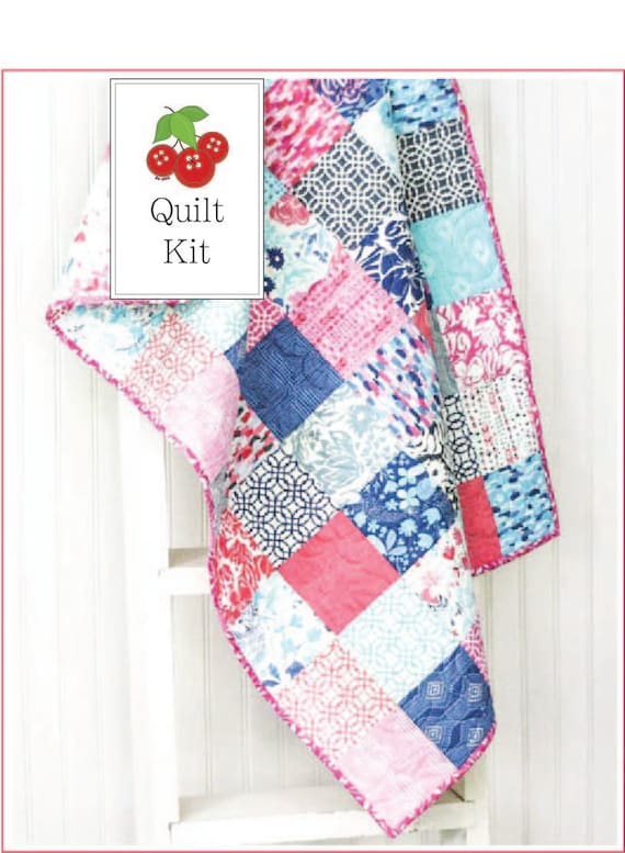 items similar to quilt kit paradiso baby quilt kit 87264