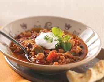 New Mexican Meatless Chili