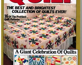 Quilt Magazine Special Anniversary Issue! Spring 1989