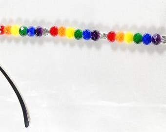 Love and Rainbows Mini Bookmark