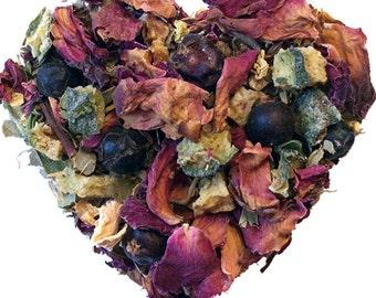 G & TEA. Herbal tea. Loose leaf tea. 2oz kraft bag. Organic.