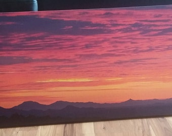 Photo Wrapped on Gallery Canvas