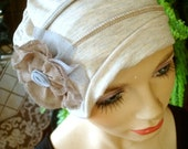chemo hats oatmeal chemo soft hat chemotherapy hat chemo gift alopecia soft hat cancer hat