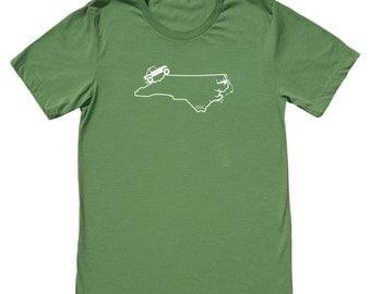 North Carolina 4x4 Jeep Shirt