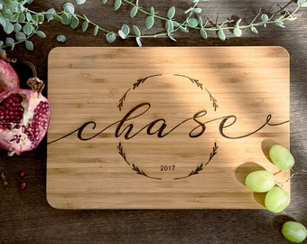 Custom Cutting Board Wood Cutting Board Personalized Wood Cutting Board Bridal Shower Gift Couples Gift Christmas Gift Cutting Board #23