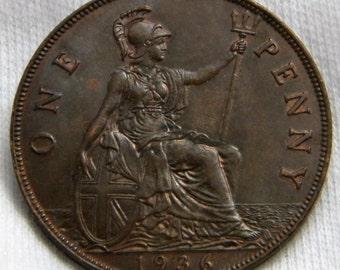 1936 British Penny Nice!