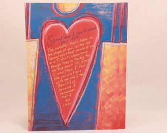NEW! Vintage Valentine's Day by Interart. Single Card with Envelope