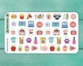 42 Various Planner Stickers / Sampler Stickers / Sticker Sheet