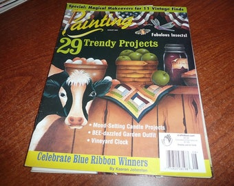 Painting Magazine August 2003