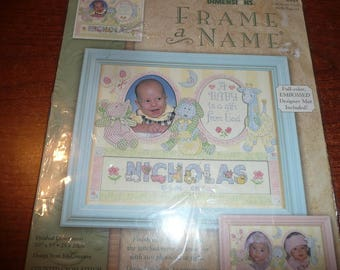 Dimensions Frame A Name Cross Stitch Gift From God Kit