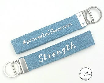 Proverbs31woman key fob