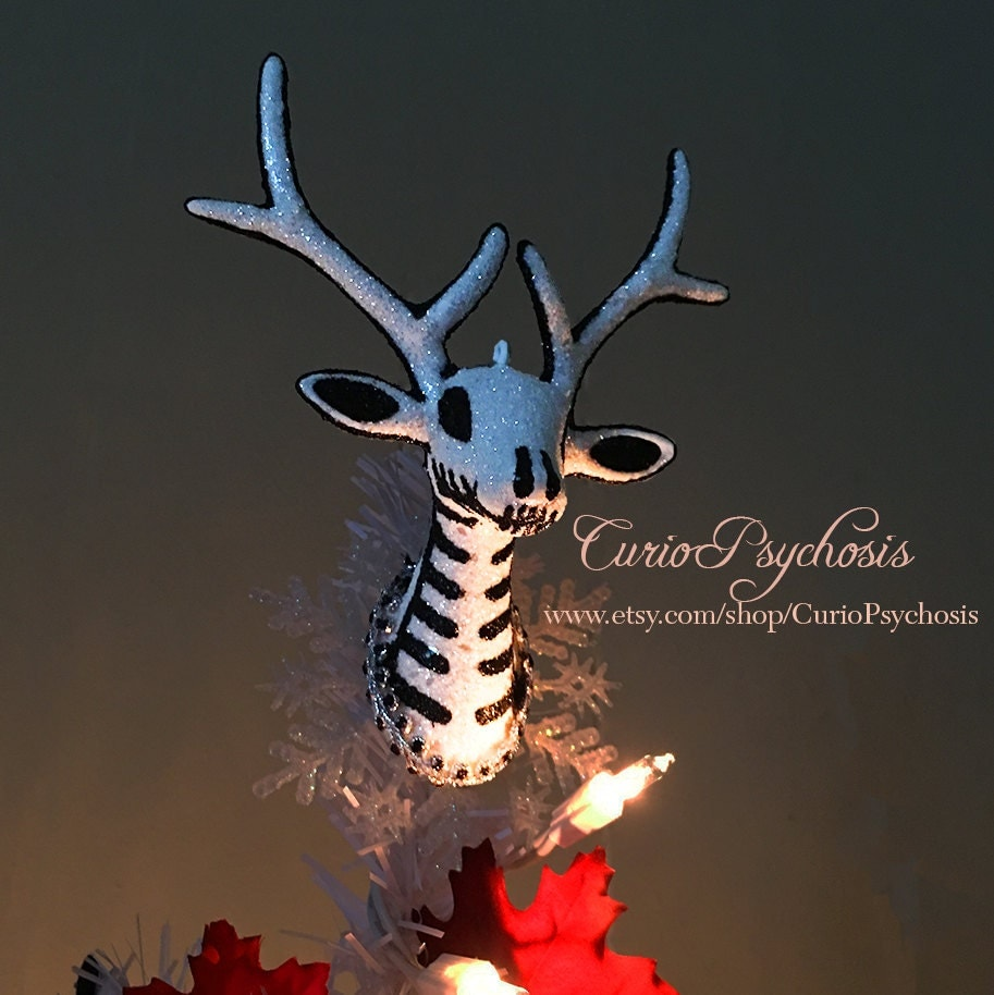 Nightmare Before Christmas Tree Topper for Mini Table Top