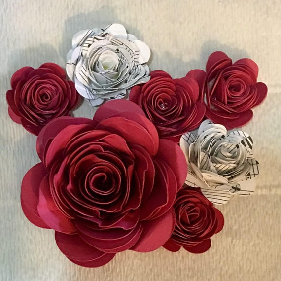 Paper Roses Hand-Rolled