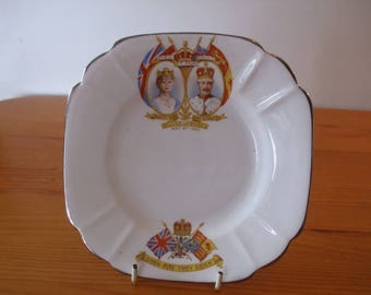Melba commemorative plate from the Silver Jubilee of King George V and Queen Mary in 1935