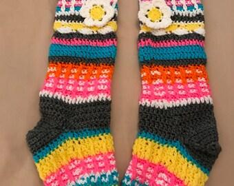 Knee High Slipper Socks