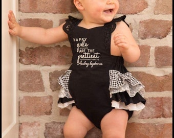 "Frilly Milly Classic ""Milly"" Romper"