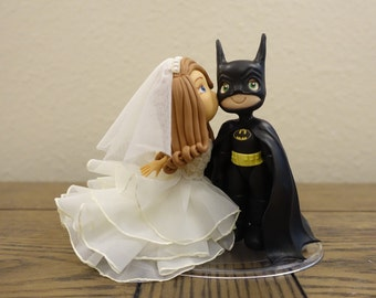superman and wonder woman wedding cake toppers etsy your place to buy and sell all things handmade 20615