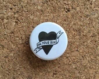 On Your Bike Badge