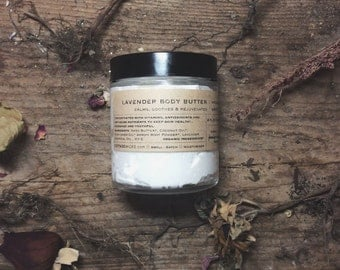 Lavender Body butter | Organic | Whipped Body Butter | Moisturizer