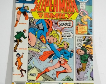 Superman Family #203 Featuring Supergirl; Bronze Age DC Comic Book