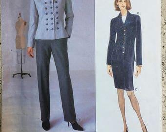 Vogue American Designer Original Pattern #2000 Bill Blass Uncut Sz 6-8-10 1997