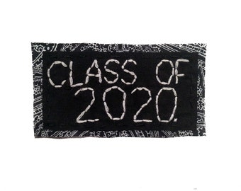 CLASS OF 2020 || Back Patch Grad Gift High School Graduation Gift College Graduation Punk Patch | Punk Patches class of 2020 gift