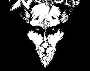 Venom POSTER Black Metal // Cronos Abbadon Welcome To Hell At War With Satan