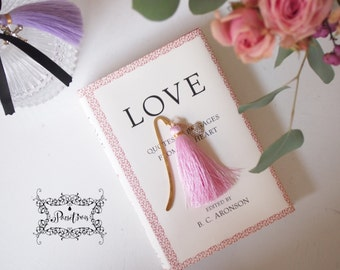 Sweetheart Gold Bookmark