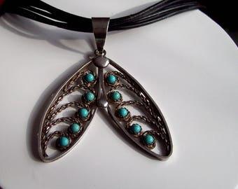 VINTAGE Real silver 925 handmade Pendant