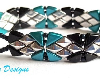 Aztec Treasure Bracelet tutorial