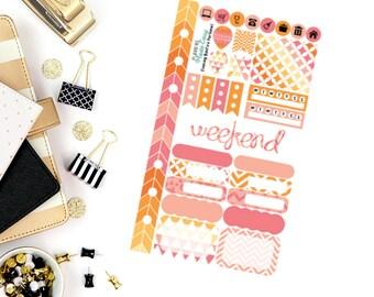 Evening Bonfire Personal Weekly Kit! Perfect for your Erin Condren Life Planner, calendar, Paper Plum, Filofax!