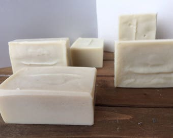 Coconut milk soap ~ coconut oil ~ cocoa butter ~ Handmade ~ Homemade.