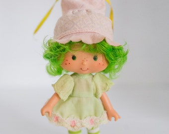 Strawberry Shortcake Doll Lime Chiffon, Early 1980s, American Greetings 1979