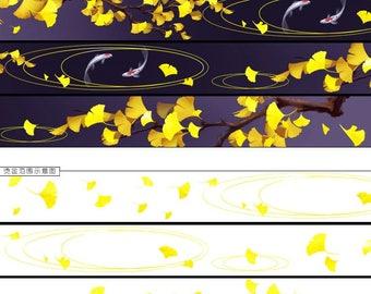 Partial shine 20mm x 5m Washi tape Masking Tape