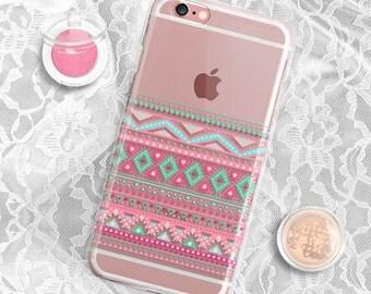 iPhone 7 Case Clear iPhone 7 Plus Case iPhone 5S Case iPhone 6 case Transparent iPhone 6s case Tribal iPhone 6 plus case iPhone 6s plus case